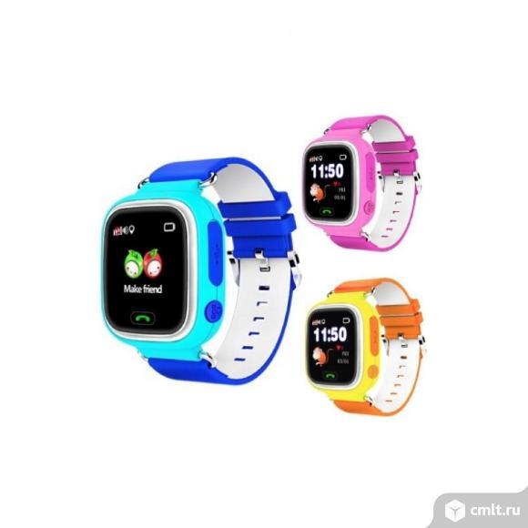Детские часы с GPS трекером Smart Baby Watch Q80. Фото 1.