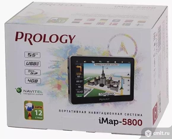 Как новый GPS навигатор Prology iMap-5800. Фото 1.