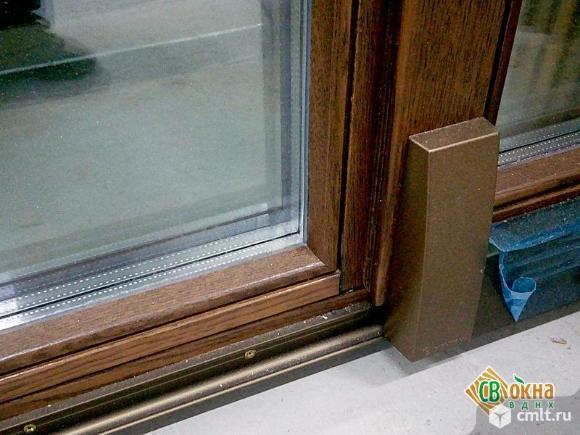 Раздвижные (портальные) деревянные окна и двери. Фото 3.