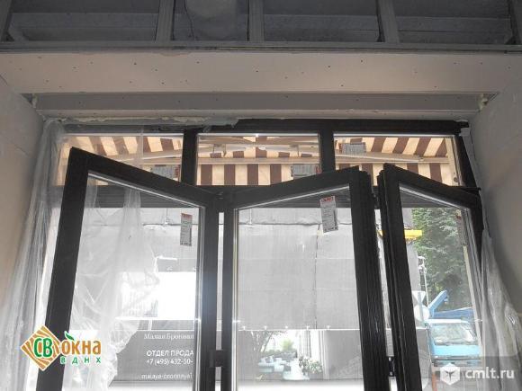 Окна-«гармошки» и складные двери. Фото 1.