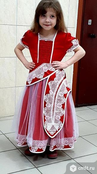 Платье празднечное. Фото 1.