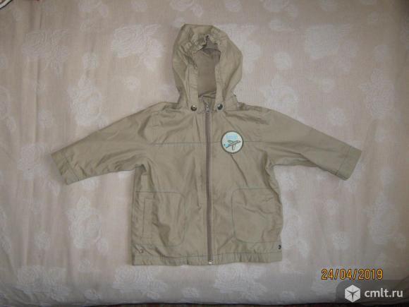 Детские куртки на мальчика 3 года, б/у.. Фото 1.