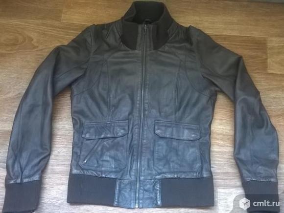 Мужская куртка из натуральной кожи. Фото 1.