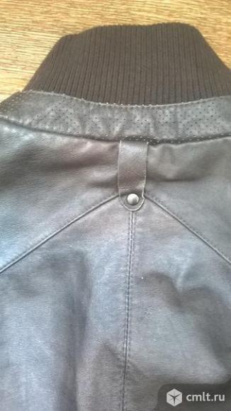 Мужская куртка из натуральной кожи. Фото 6.