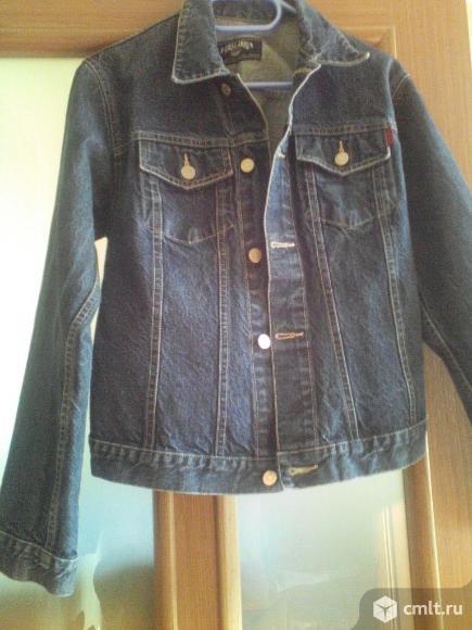 Джинсовая куртка мужская. Фото 1.