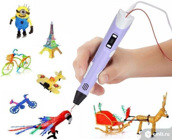 3D ручка Spider Pen LITE с ЖК дисплеем. Фото 4.