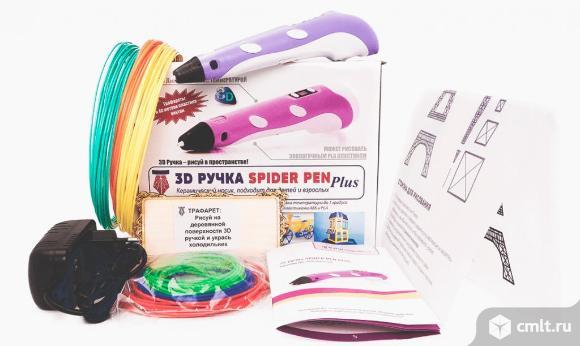 3D ручка Spider Pen LITE с ЖК дисплеем. Фото 1.