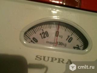 Весы механические до 130кг, цена деления 1 кг. Фото 1.