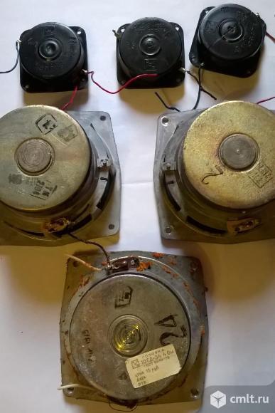 Динамики 6гд-6,10Ггд-34 и 3гд-2. Фото 2.