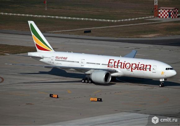 Модель самолёта Эфиопии Airlines Boeing 787. Фото 7.