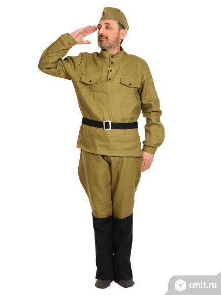 Взрослые военные карнавальные костюмы. Фото 1.