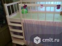 Кроватка для девочки. Фото 1.