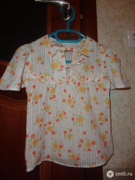 Новая рубашка-туника на лето. Фото 1.