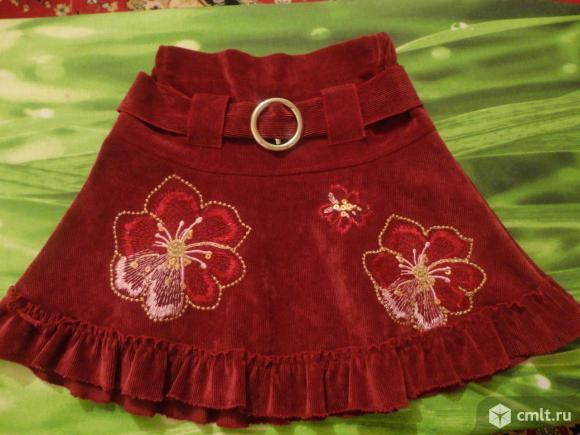 Нарядная юбка(отличное состояние). Фото 1.