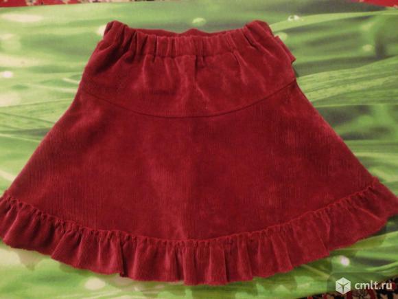 Нарядная юбка(отличное состояние). Фото 2.