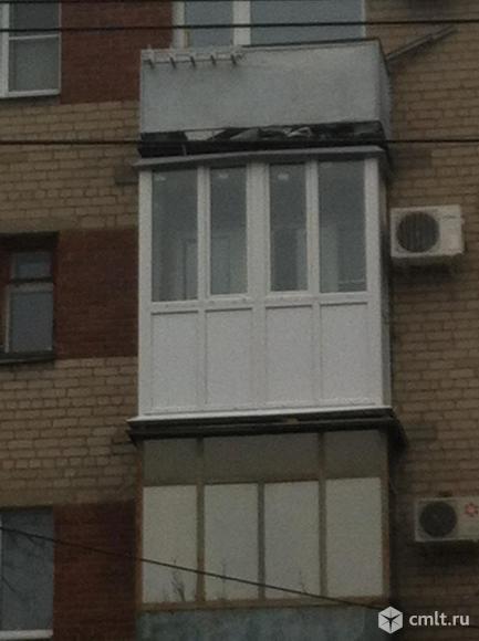 Отделка балконов и лоджий. Фото 1.