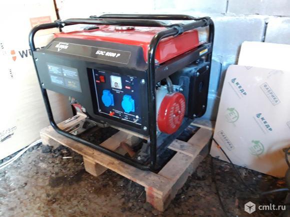Бензиновый генератор ELITECH БЭС 6500 Р. Фото 2.