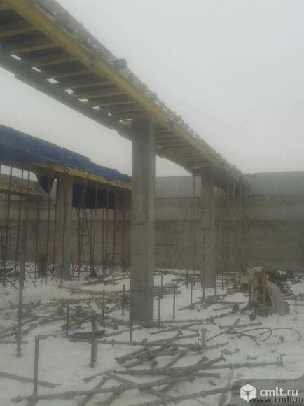 Бетонные работы: стены, колонны, перекрытия. Фото 8.