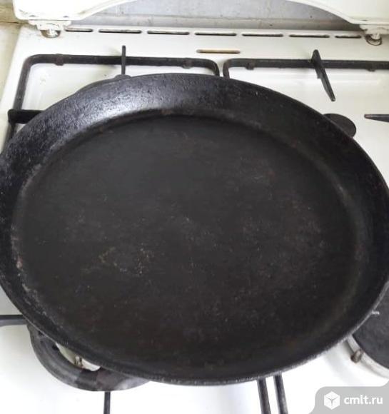 Сковорода чугунная. Фото 2.