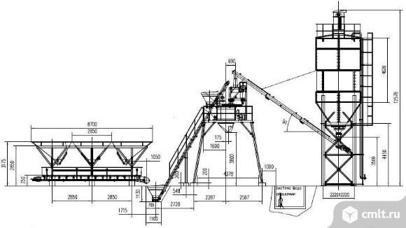 Бетонные заводы РБУ от производителя. Фото 1.