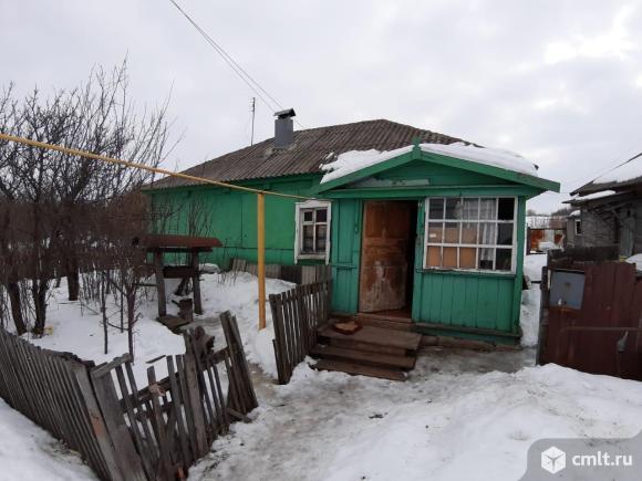 Хохольский район, Оськино. Дом, 37 кв.м, 2 комнаты, свет. Фото 1.