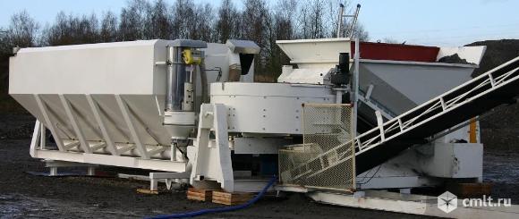 Мобильный бетонный завод  SUMAB C 15-1200. Фото 4.