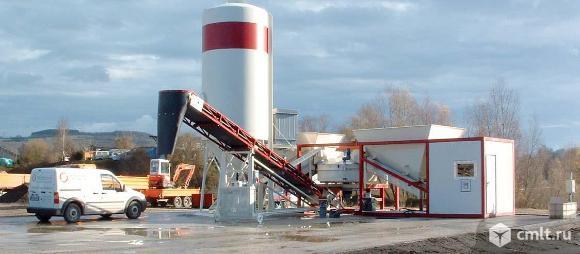 Мобильный бетонный завод SUMAB K-30. Фото 1.