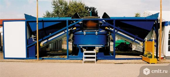 Мобильный бетонный завод Sumab К-80. Фото 3.