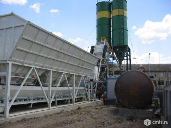 Стационарный бетонный завод Sumab Т-15. Фото 1.