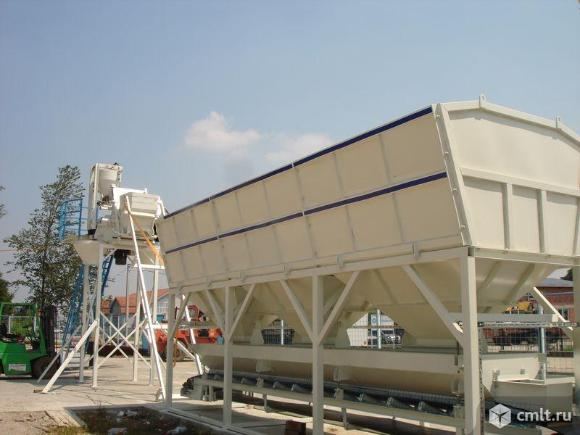 Стационарный бетонный завод Sumab T-40. Фото 1.