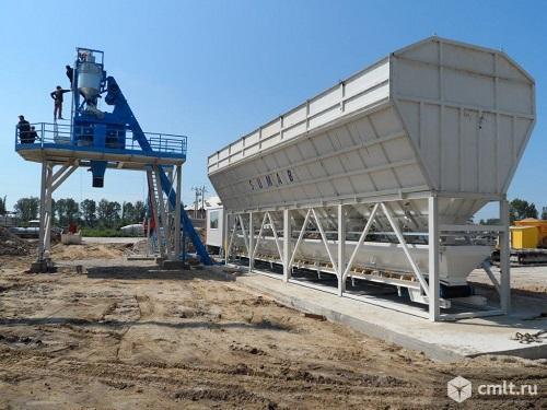 Стационарный бетонный завод Sumab T-80. Фото 1.