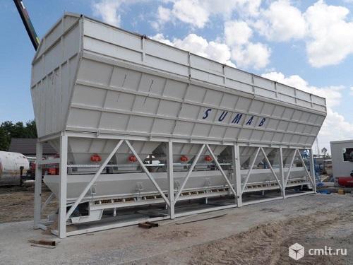 Стационарный бетонный завод Sumab T-100. Фото 1.
