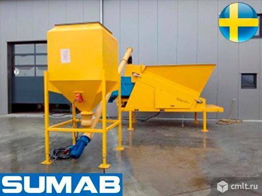 Мобильный бетонный завод Sumab Mini. Фото 1.