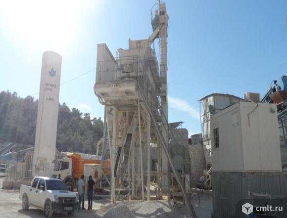 Завод по производству асфальта BENNINGHOVEN MBA 160 б/у 2008 г.в.. Фото 2.