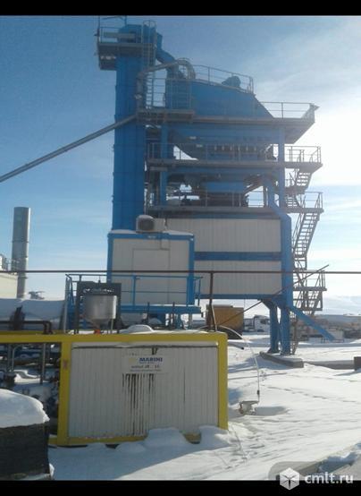 Завод по производству асфальта BENNINGHOVEN ECO 3000 б/у 2016 г.в.. Фото 1.