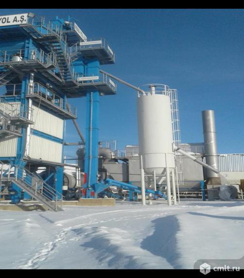 Завод по производству асфальта BENNINGHOVEN ECO 3000 б/у 2016 г.в.. Фото 2.