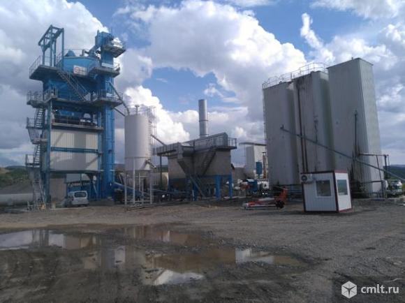 Завод по производству асфальта BENNINGHOVEN ECO 4000 б/у 2012 г.в.. Фото 1.
