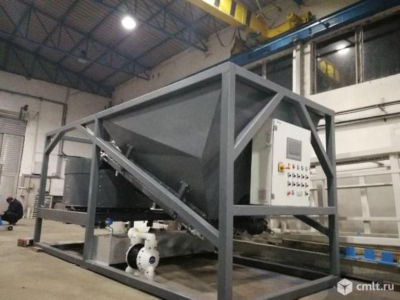 Мобильный завод для производства бетона и холодного асфальта, 2в1!!!. Фото 1.