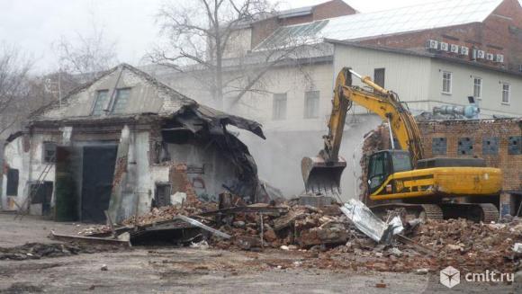 Демонтаж, снос строений (частичный, полный). Фото 1.