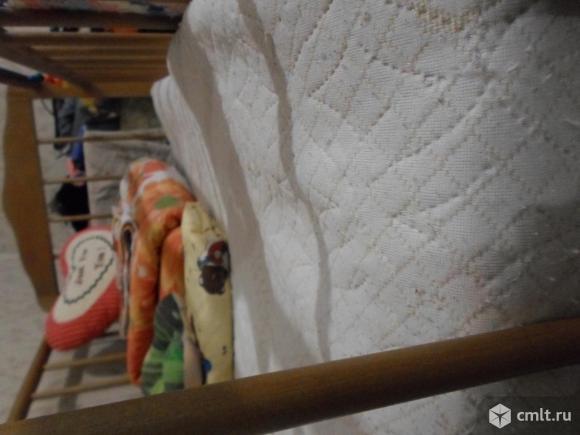 Кроватка - маятник и матрас. Фото 4.