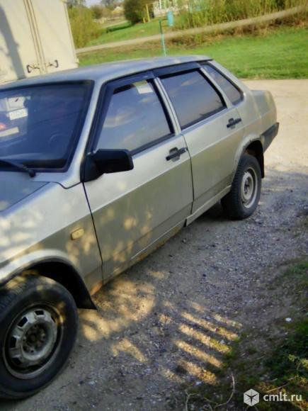ВАЗ (Lada) 21099 - 1997 г. в.. Фото 5.