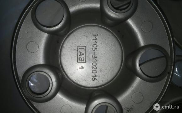 Колпачки на стандартные диски ГАЗ 31105. Фото 2.
