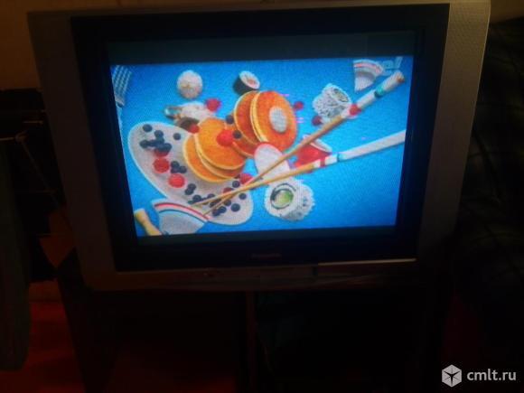 Телевизор кинескопный цв. Panasonic TX29FJ20T. Фото 1.