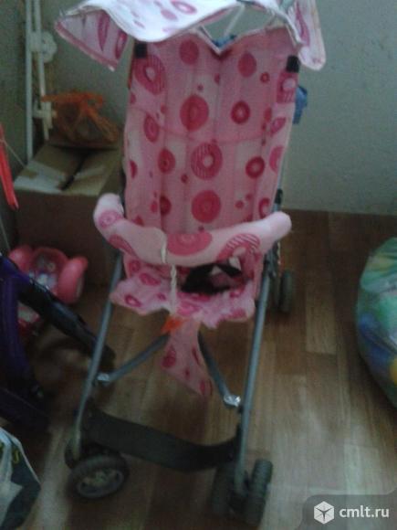 Легкая коляска-трость. Фото 3.
