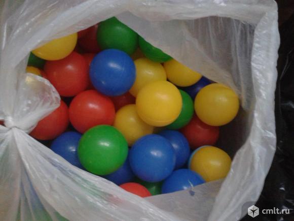 Набор шариков в бассейн или в палатку. Фото 1.