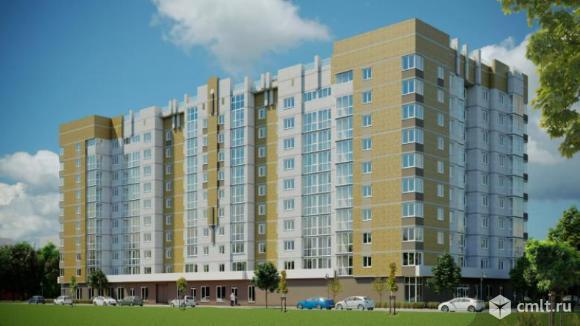 3-комнатная квартира 76,29 кв.м. Фото 1.