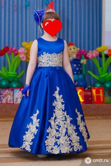 Платье на выпускной в детском саду. Фото 1.