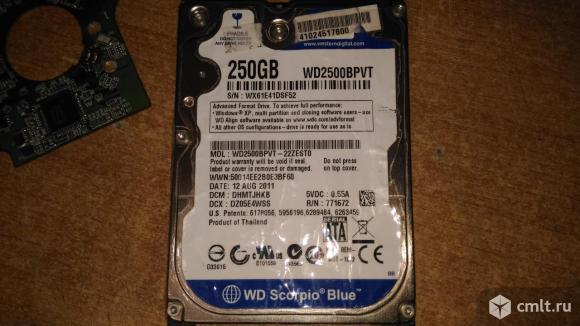 Плата HDD WD 2.5. Фото 4.