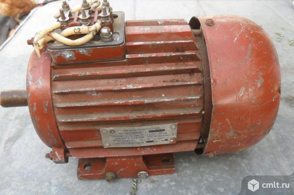 Эл. двигатель 4АМХТ80В4У3, 220В. Фото 1.