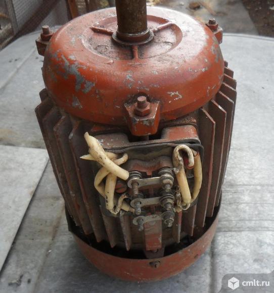 Эл. двигатель 4АМХТ80В4У3, 220В. Фото 3.